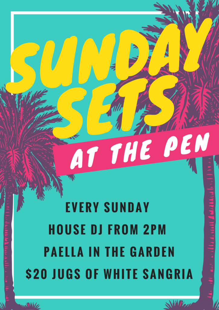 Sunday Sets at The Pen