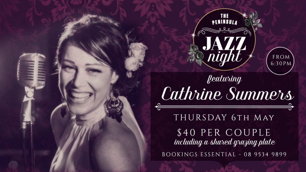JAZZ NIGHT: Cathrine Summers