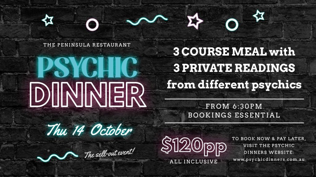 PSYCHIC DINNER at The Pen